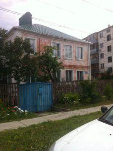 Дом до покраски