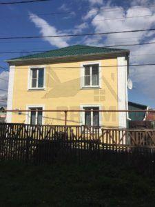 Дом после покраски
