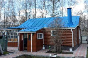Образец покрашенной оцинкованной крыши, г. Нижний Новгород